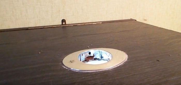 отверстие для вентиляции в крышке аквариума