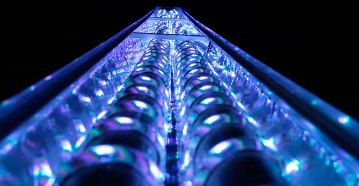 освещение в крышке аквариума светодиодной лентой