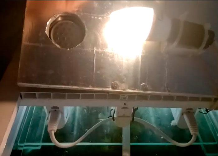 комбинированная подсветка в крышке аквариума как сделать