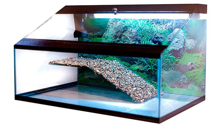 подсветка аквариума с черепахами трубками уф ламп