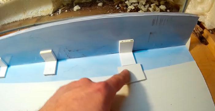 стенка крышки аквариума своими руками