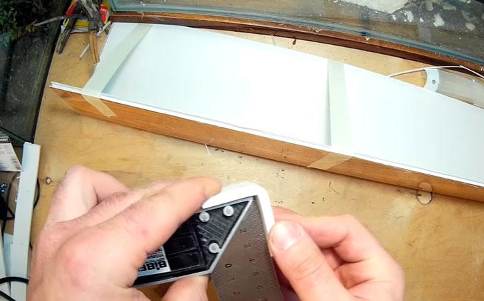 уголки для фиксации прямого угла крышки