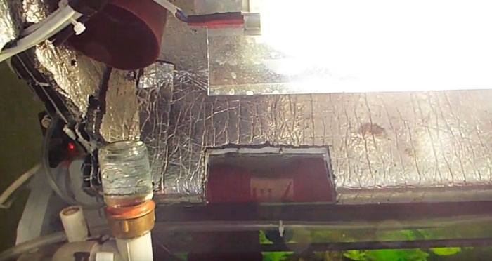 вырезы для вентиляции в крышке аквариума