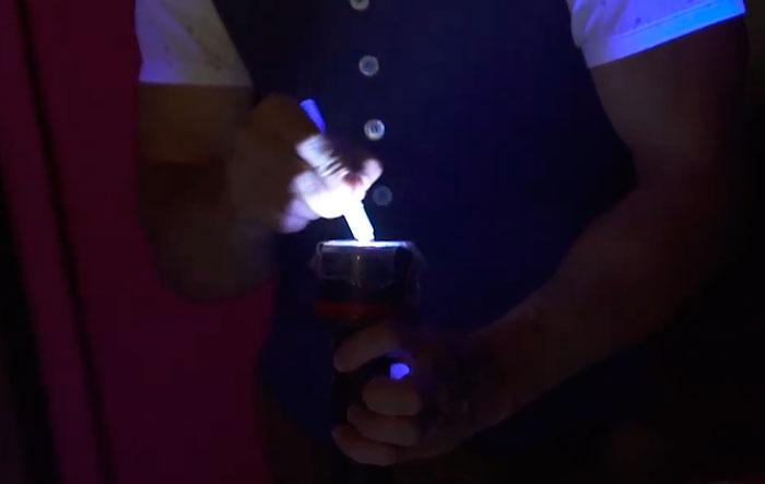 ультрафиолетовый фонарик своими руками