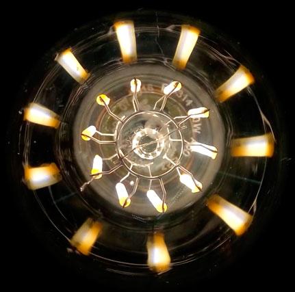 нити филаментной лампы