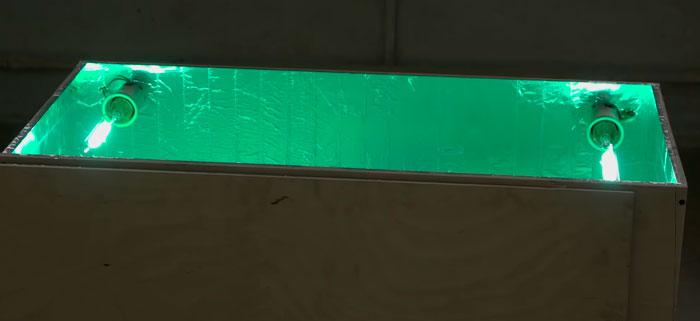 ящик для исксственного старения материалов на уф лампах