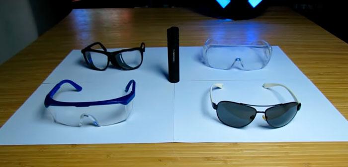 очки для защиты от ультрафиолетового излучения