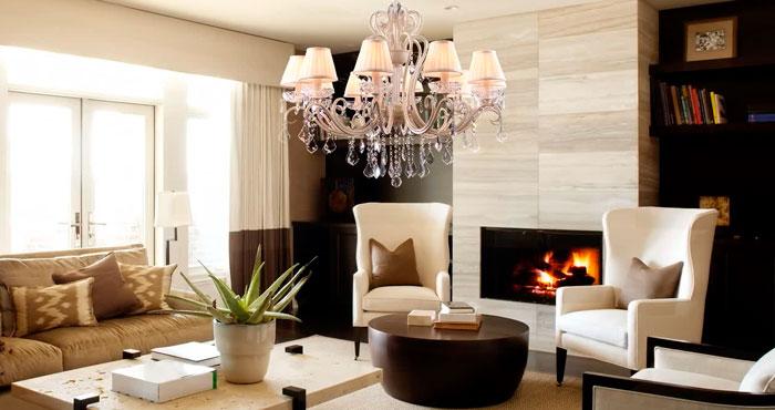 филаментные лампы идеальны для хрустальных люстр