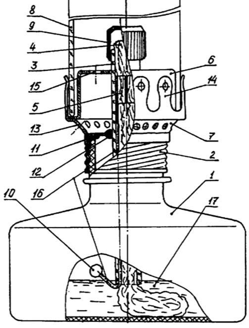 принцип действия керосиновой лампы