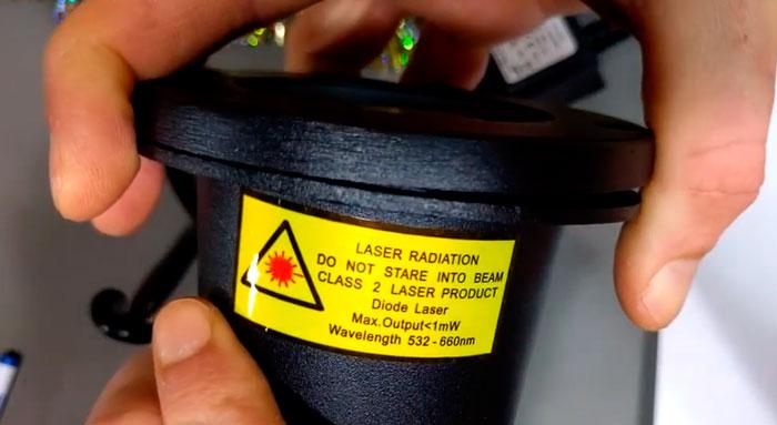 почему лазерный новогодний проектор опасен для глаз и зрения