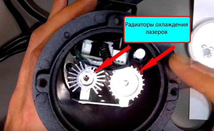 конструкция и устройство новогоднего лазерного проектора для дома