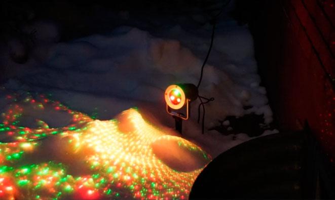 преимущества и недостатки лазерных новогодних проекторов
