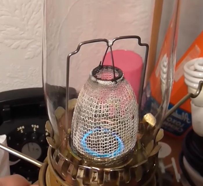 керосиновая лампа Ауэра