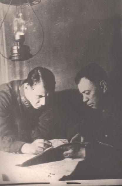 керосиновая лампа в Великую Отечественную войну