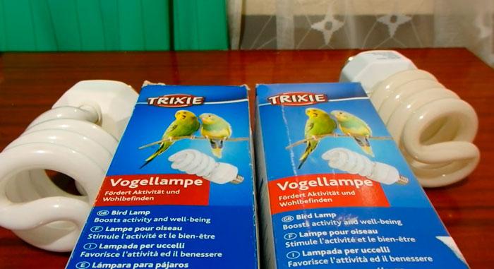 уф лампа для попугая с цоколем E27