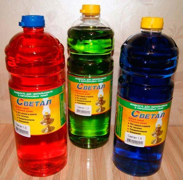 жидкость для керосиновых ламп Светал