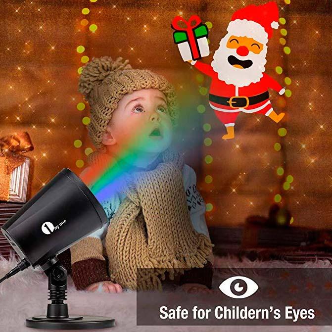 безопасные новогодние проекторы для детей