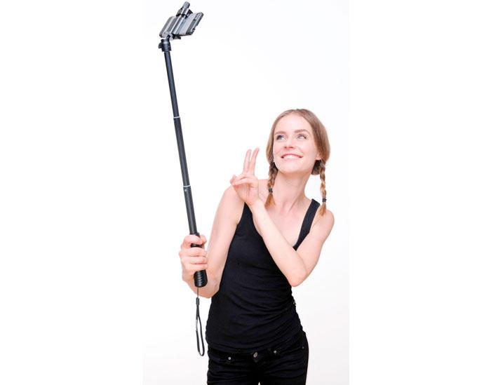 как правильно снимать с селфи палкой