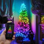Twinkly гирлянда — обзор умной светодиодной подсветки.