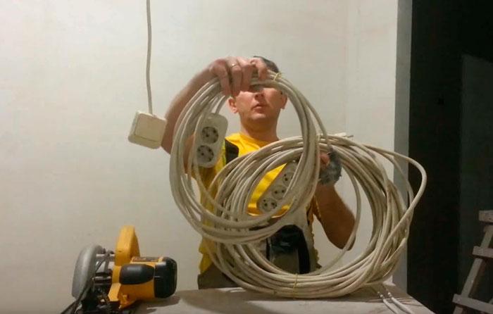 переноски для временной электрики
