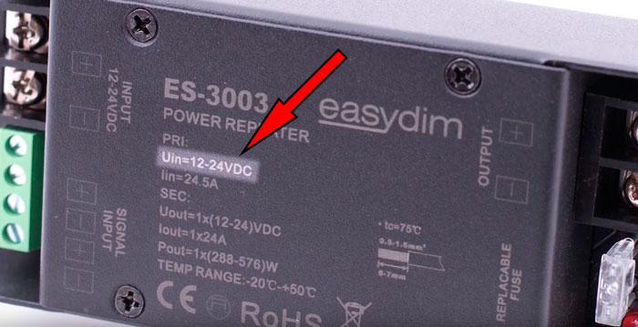 ток и мощность подключаемая к контроллеру светодиодной ленты