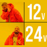 Светодиодная лента 12v или 24v — какую выбрать?