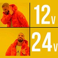 светодиодная лента на 12в и 24в какая лучше