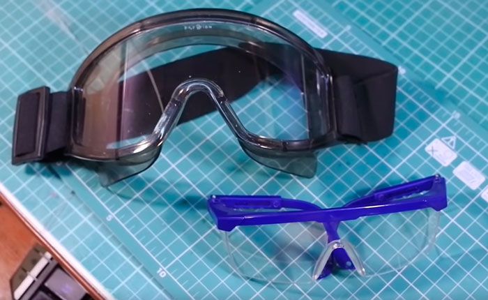 при пайке всегда нужно использовать очки