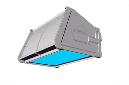 устройство потолочного светильника coelux окно в небо
