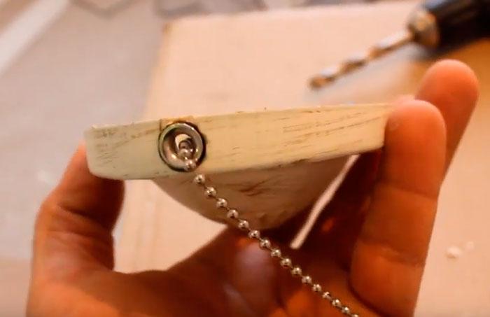 цепочка шнурок для отключения бра