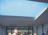 потолочный светильник окно в небо