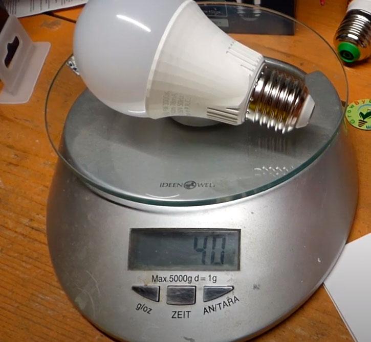 вес лампочки remez 9вт