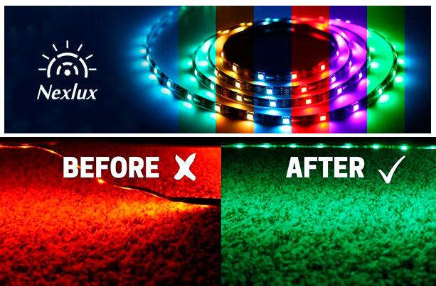 отклеивается светодиодная лента что делать