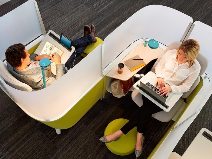 границы между сотрудниками в офисе