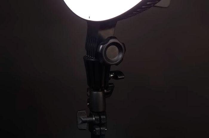 как выбрать хороший штатив для кольцевой лампы