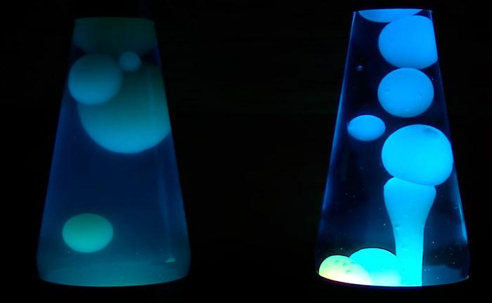 потускнела жидкость в лава лампе что делать