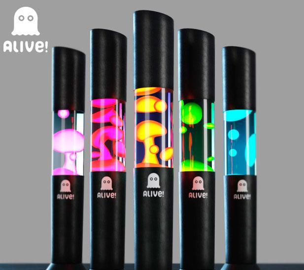 лава лампы разного цвета