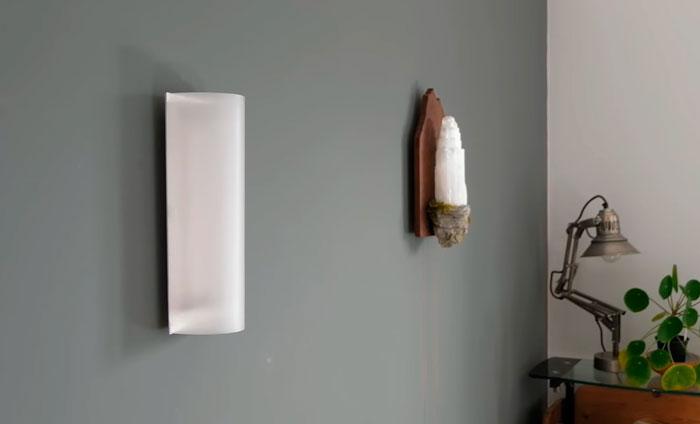настенный светильник из светодиодной ленты