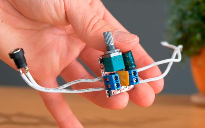 подключение диммера к проводам