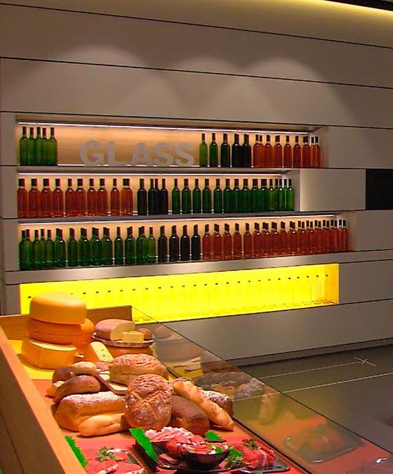 как с помощью света заставляют покупать в магазине