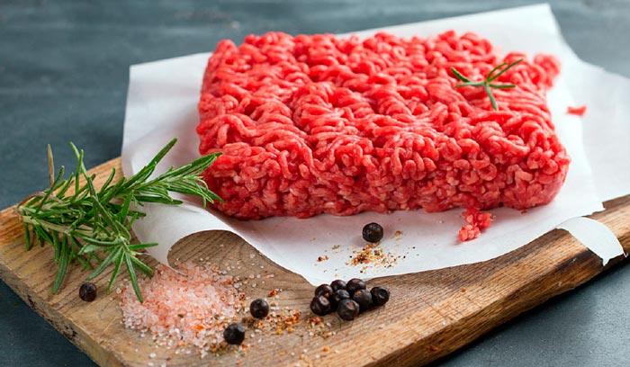 правильное освещение мяса