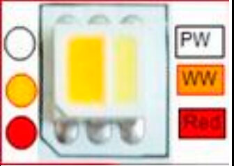 освещение еды и продуктов специальной светодиодной ленты
