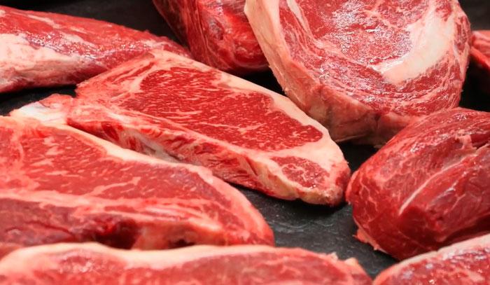 правильный свет для мяса