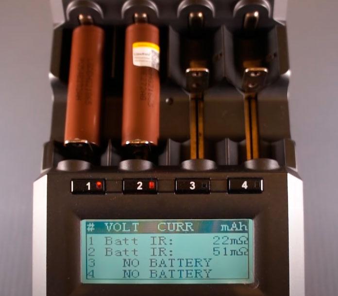 сопротивление батарейка LG оригинал и литокала