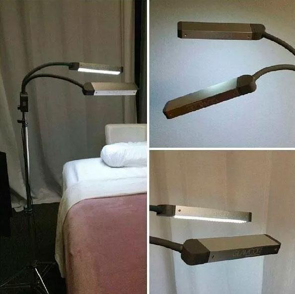 парный светильник для лэшмейкера наращивание ресниц