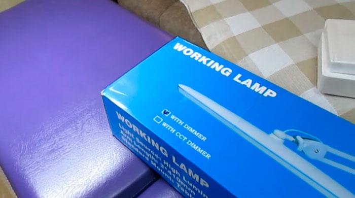 диммирование лампы лэшмейкера