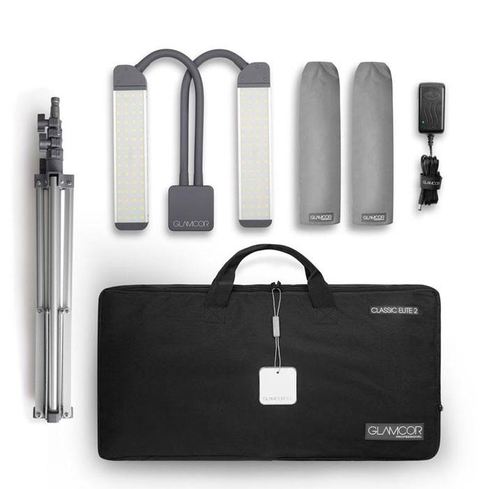 сумка чехол для переноски лампы по наращиванию ресниц Glamcore