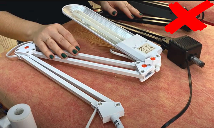 лампа хамелеон для лэшмейкера по наращиванию ресниц