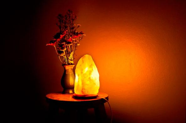 ночник соляная лампа