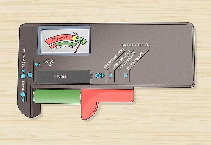 тестер нагрузочник для проверки батареек
